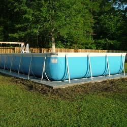 Tuff 9 ft. x 21 ft. Rectangle Above Ground Swimming Pool