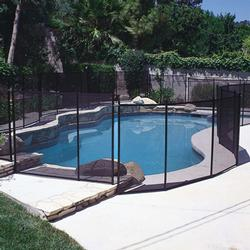 4' X 10' Fence Section Designer Black