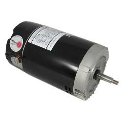 Emerson 56 J-Frame C-Flange 5.5in. Diameter Single Speed 3/4HP Up-Rated Pool and Spa Motor, 5.0/10.0A 115V/230V