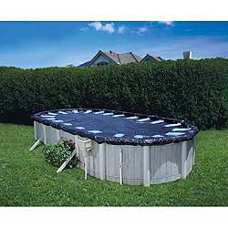Deluxe 12 ft. Round Above Ground Pool Cover