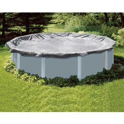Steel Guard 18 ft. Round Above Ground Pool Cover