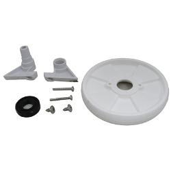 Pool Cleaner Front Wheel Kit with Retainer and Bearing