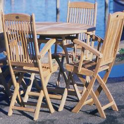 Sailor Folding Patio Chair without Arms