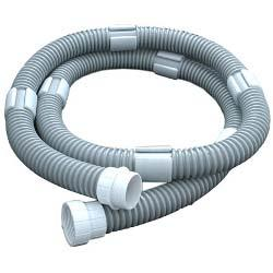 65/165/Turbo Turtle Pool Cleaner 8' Float Hose Extension Kit, Gray