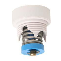 Pressure Relief Valve, Blue F/Wall Fitting