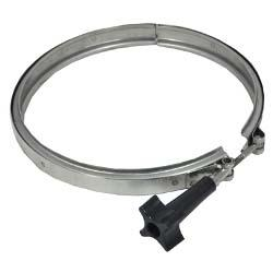 Low Profile 1-1/2in.-2in. Valve Band Clamp - Stainless Steel