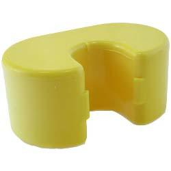 HANDLE FLOAT YELLOW  DOLPHIN