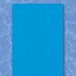 18' Round Overlap Blue Above Ground Pool Liner, Depth, 48/52in.