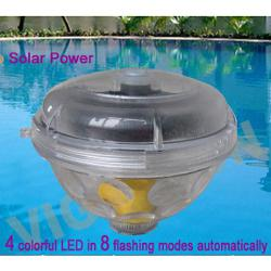 Solar Powered Floating Pool Light Show