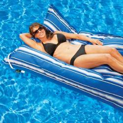 Kai Inifinity Capri Floating Lounger, Blue Stripe