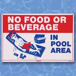No Food of Beverage - Sign
