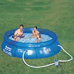 Snap Set 8 ft. Round Kiddie Pool