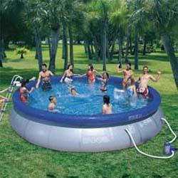Snap Set 15 ft. Round Kiddie Pool