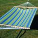 Hampton Bay 11 Hammock, Blue/Green