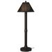 Tahiti II Outdoor Table Lamp, Walnut