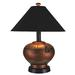 Phoenix Outdoor Table Lamp, Copper