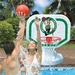 Boston Celtics Poolside Basketball Game