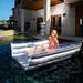 Tanning Bed Swimming Pool Lounger with FREE Air Pump