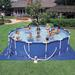 Metal Frame 15 ft. Round Above Ground Pool