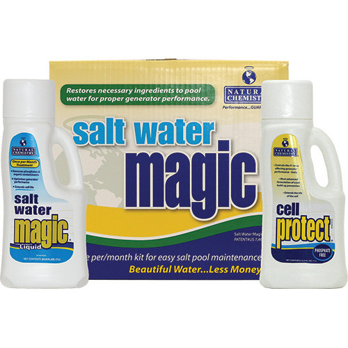 Natural Chemistry 07404 Salt Water Magic Monthly Kit
