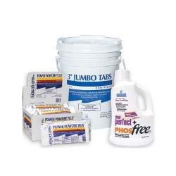 Leslie's 12-pack Power Powder Plus Shock Chemical Value Kit with Pool Perfect + PHOSfree and 35lbs Chlorine Tabs Bucket