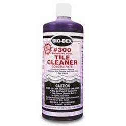 #300 Tile Cleaner --- 1 qt.