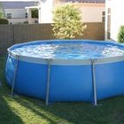Tuff 15 ft. Round Above Ground Swimming Pool