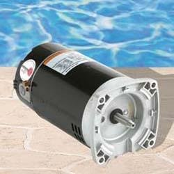 Century a o smith b2841 e plus 56y square flange 1hp full for Century pool and spa motor
