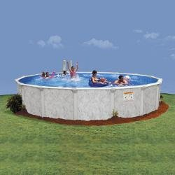 15 ft. Round Supreme Deluxe Pool Package