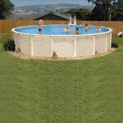8 ft. Round Ultra Pool Package