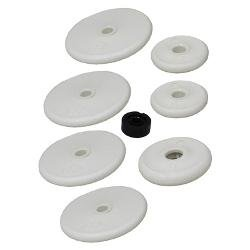 Pool Cleaner Soft Rollers with Bearings (7 pack)