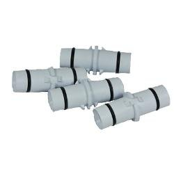 Tigid Pipe Couplings, 4 Pack