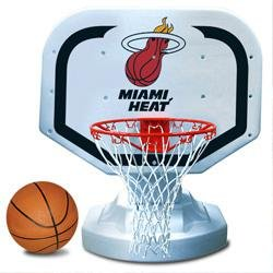 Miami Heat Poolside Basketball Game