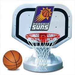 Phoenix Suns Poolside Basketball Game