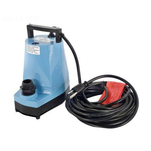 Little Giant 5msp Water Wizard Pool Cover Pump With 25 39 Cord 1200 Gph