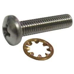 10-32 x 7/8 in. SS Pan Head Screw with Star Washer for 3900