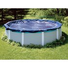 Standard 12 ft. Round Above Ground Pool Cover, Blue