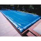 Standard 12 ft. x 24 ft. Oval In Ground Pool Cover, Blue