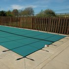 Original 12 ft. x 24 ft. Solid Rectangle Safety Cover, Green