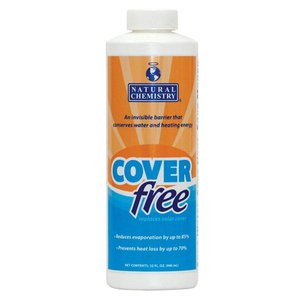 COVERfree Liquid Solar Pool Cover Blanket for Pools up to 20,000 Gallons