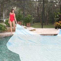 7-Year 12 ft. x 12 ft. Square Solar Blanket for In Ground Pools