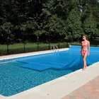 1-Year 12 ft. x 24 ft. Rectangle Solar Blanket for In Ground Pools