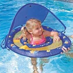 Baby Spring Float W Canopy