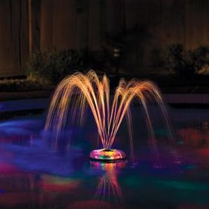 Underwater Light Show and Fountain