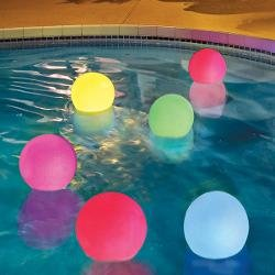 LED Light Up Floating Ball