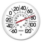 White Outdoor Thermometer