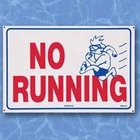 No Running - Sign