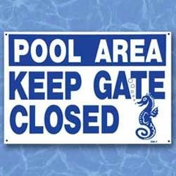 Keep Gate Closed - Sign