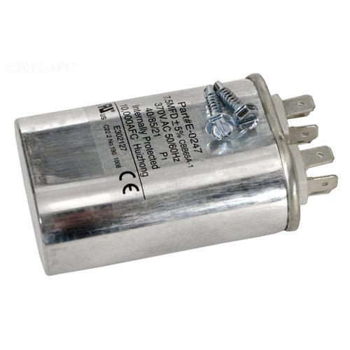Jandy r3001100 replacement capacitor fan motor for Electric motor capacitor replacement