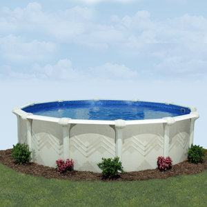 Embassy Pools Valdez Round Above Ground Pool Package